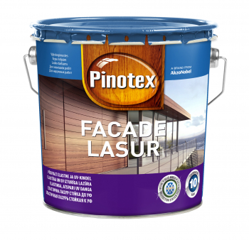 Impregnantas medienai Pinotex Facade Lasur, Nordic white sp., 3 l