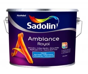 Dažai Sadolin AMBIANCE ROYAL, BW bazė, 2,5 l