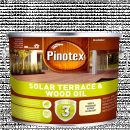 Alyva medienai Pinotex Solar Terrace Oil, CLR bazė, 2.33 l