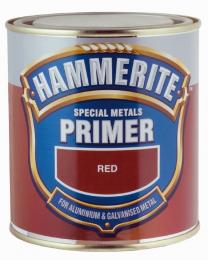 Gruntas HAMMERITE SPECIAL METALS PRIMER, raudonas, 0,5 l