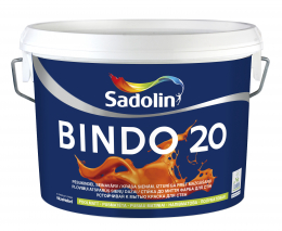 Dažai Sadolin BINDO 20, BW bazė, 2.5 l