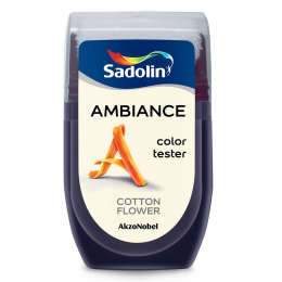 Dažų testeris AMBIANCE, COTTON FLOWER, 30 ml