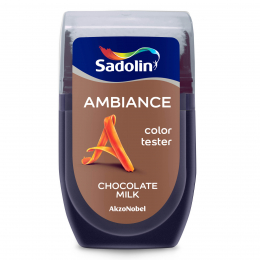 Dažų testeris AMBIANCE, CHOCOLATE MILK, 30 ml