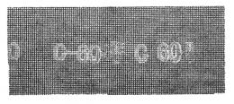 Šlifavimo tinklelis 60  280x115 (1010-120506)