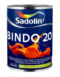 Dažai Sadolin BINDO 20, BM bazė, 0.96 l