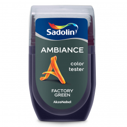 Spalvos testeris AMBIANCE, FACTORY GREEN, 30 ml