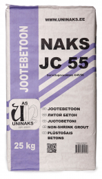 Betonas montažinis JOOTEBETOON JC55 25kg (42)