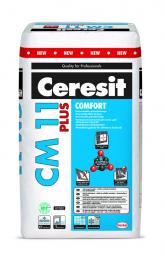 Klijai plytelėms Ceresit CM11 Comfort plus 25kg