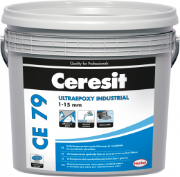 Glaistas-klijai Ceresit CE79 UltraEpoxy Industrial Crystal White 701 5kg