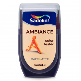 Spalvos testeris AMBIANCE, CAFE LATTE, 30 ml
