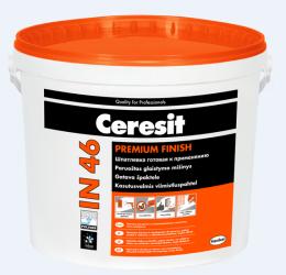 Glaistas Ceresit IN46 vidaus darbams 0-2 mm, 3kg