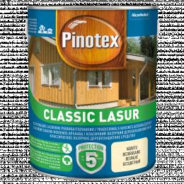 Impregnantas medienai Pinotex Classic Lasur, bespalvis, 3 l