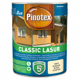 Impregnantas medienai Pinotex Classic Lasur, riešutmedžio sp., 3ltr