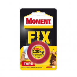 Juosta montažinė Moment Fix Tape Extra Strong 120kg, 1.5m