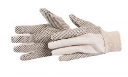 Pirštinės megztos su PVC tašk dyd XL (1512-720010)
