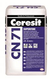 Mišinys Ceresit CN71 grindims lyginti 0-5mm, 25kg