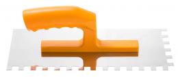 Plieninė dantyta glaistyklė 12x28cm, dantys 12x12, serija *22*, (0800-222812)