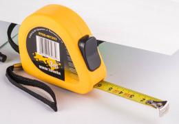 Ruletė geltona, 3m x 13mm, (0700-401203)