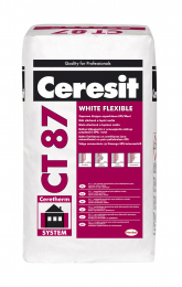 Mišinys Ceresit CT87 White Flexible, 25kg