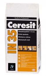 Glaistas Ceresit  IN35 vidaus darbams 1-5 mm, 3kg