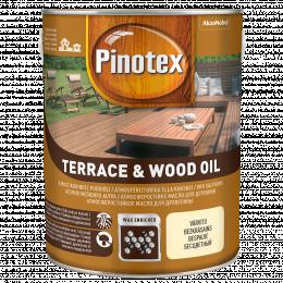 Alyva medienai Pinotex Terrace&Wood Oil, CLR bazė, 3 l