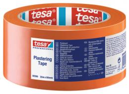 Apsauginė juosta TESA,  oranžinė, 33m x 50mm (60399)