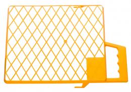 Grotelės dažytojo, 30x22 cm, plastikinės, (0145-323022)