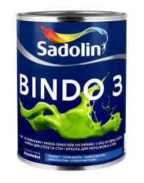 Dažai Sadolin BINDO 3, BW bazė, 1 l
