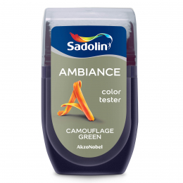 Spalvos testeris AMBIANCE, CAMOUFLAGE GREEN, 30 ml