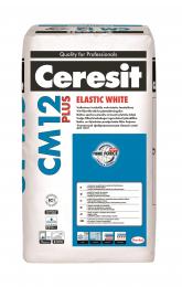Klijai plytelėms Ceresit CM12 plus, elastik White, 25kg