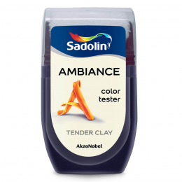 Dažų testeris AMBIANCE, TENDER CLAY, 30 ml