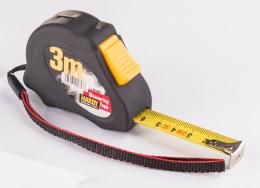 Ruletė juoda, 7.5m x 25mm, (0700-442507)