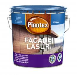 Impregnantas medienai Pinotex Facade Lasur, CLR bazė, 3 l