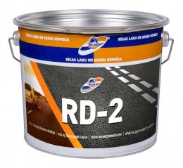 Dažai RD-2 kelių žymėjimui balti 4kg
