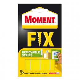 Juostelės montažinės Moment Removable Strips (iki 2kg)
