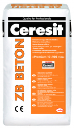 Mišinys betono CERESIT ZB smulkiagrūdis 25kg