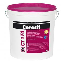 """Tinkas Ceresit CT174, frakcija 1.5mm, silikat.silikoninis, """"samanėlė"""". 25kg"""