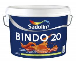 Dažai Sadolin BINDO 20, BW bazė, 5 l