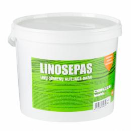 Aliejus medienai 'Linosepas', spalva - gintarinė, 5ltr