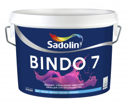Dažai Sadolin BINDO 7, BW bazė, 2.5 l