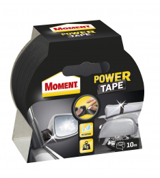 Juosta lipni Moment Power Tape, juoda, 10m
