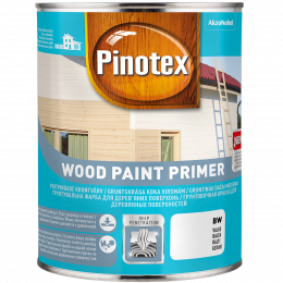 Gruntas medienai Wood Paint Primer, 1 l