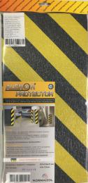 Apsauga kampui Alenor Car Protect gelt/juoda 500x250x20mm (14)