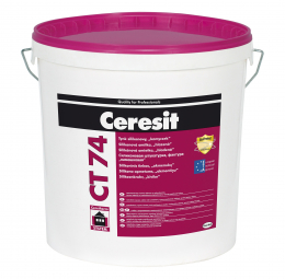"""Tinkas Ceresit CT74, frakcija 2.5mm, silikoninis """"samanėlė"""", 25kg"""