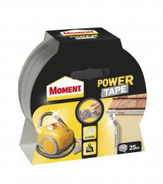 Juosta lipni Moment Power Tape, sidabrinė, 25m