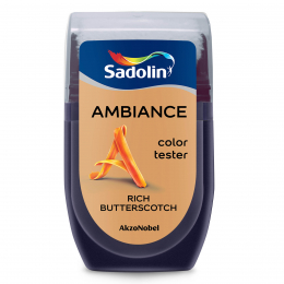 Dažų testeris AMBIANCE, RICH BUTTERSCOTCH, 30 ml