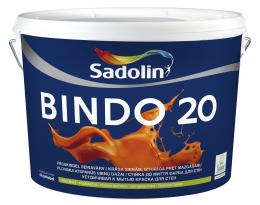 Dažai Sadolin BINDO 20, BW bazė, 10 l