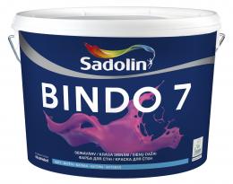 Dažai Sadolin BINDO 7, BM bazė, 9.6 l