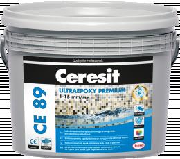 Glaistas-klijai Ceresit CE89 UltraEpoxy Pearl Gray 807 2.5kg
