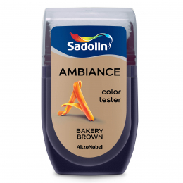 Spalvos testeris AMBIANCE, BAKERY BROWN, 30 ml